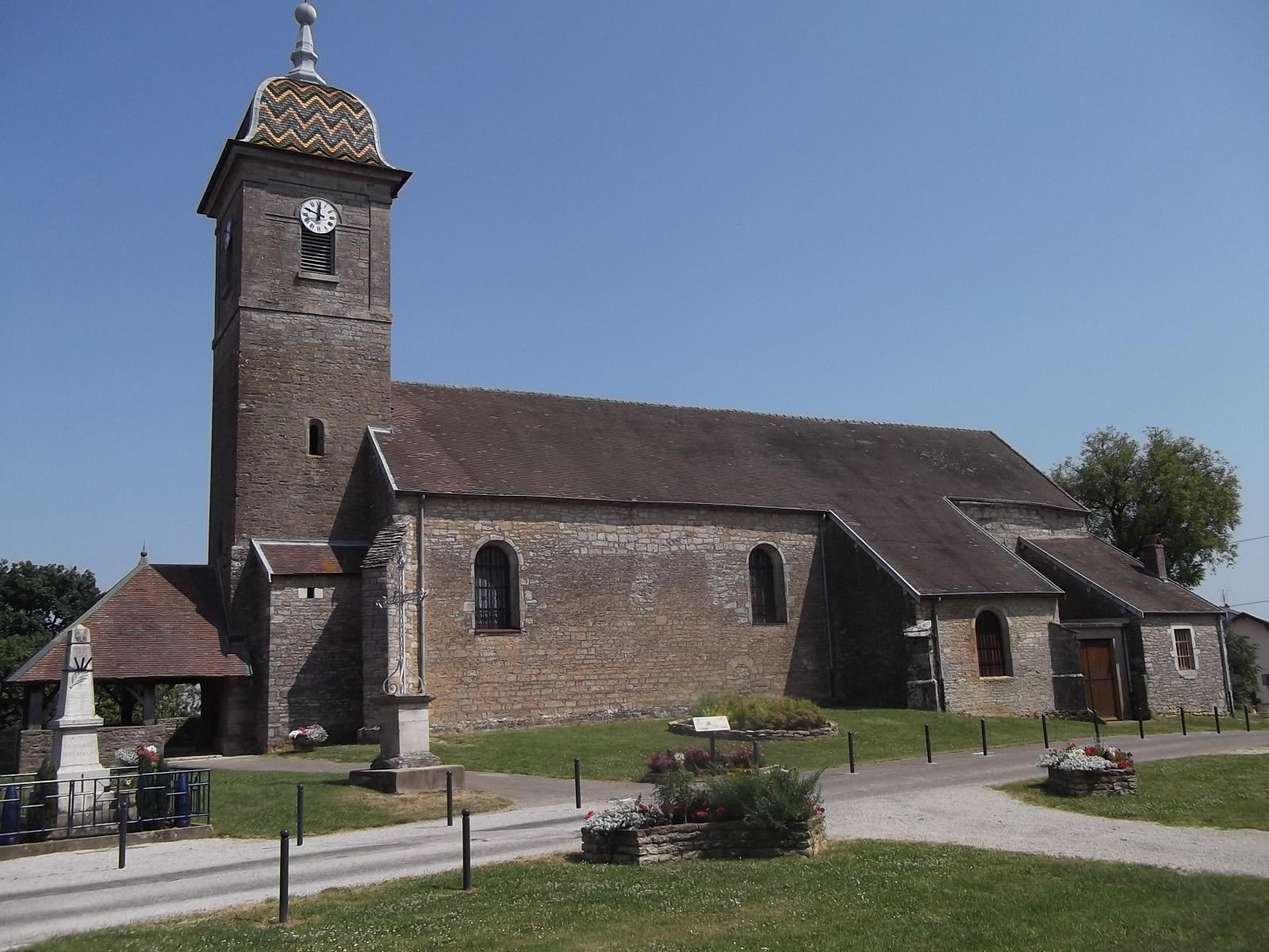 L'église Saint-Martin de Mercey-le-Grand