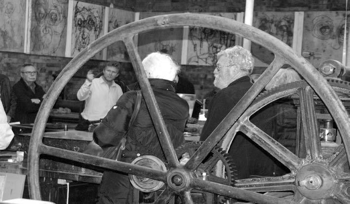 Dans l'atelier du graveur Didier Muttel