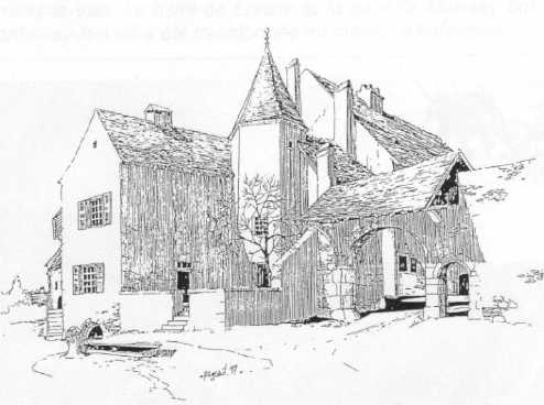porche Lefranc à Montmirey-la-Ville